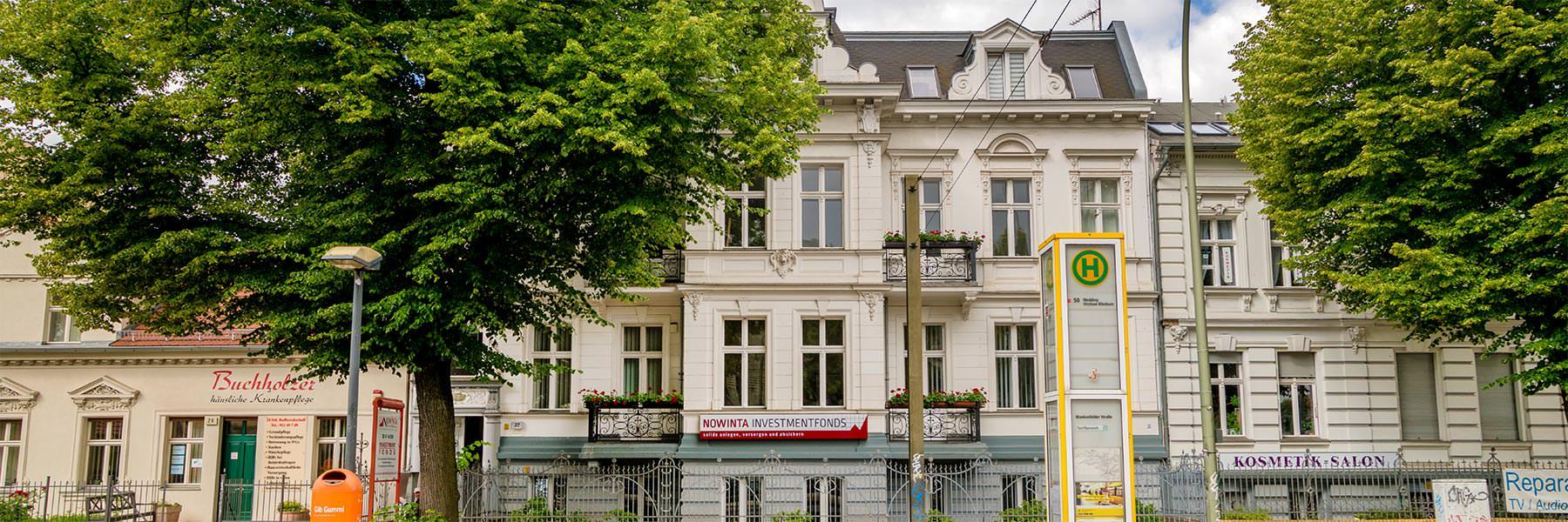 Kontaktieren Sie die NOWINTA Berlin-Brandenburg GmbH