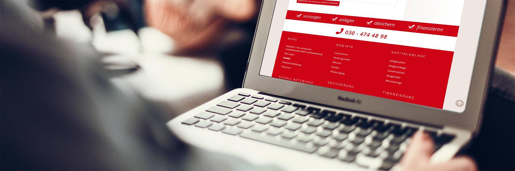neue Webseite jetzt online